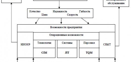 Рабочие рамки операционной стратегии